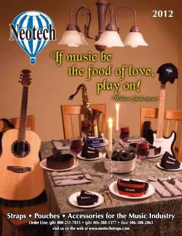 Neotech USA 2012 Catalog