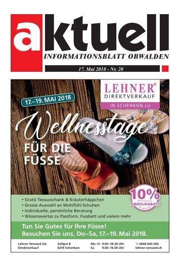 Aktuell Obwalden 20-2018