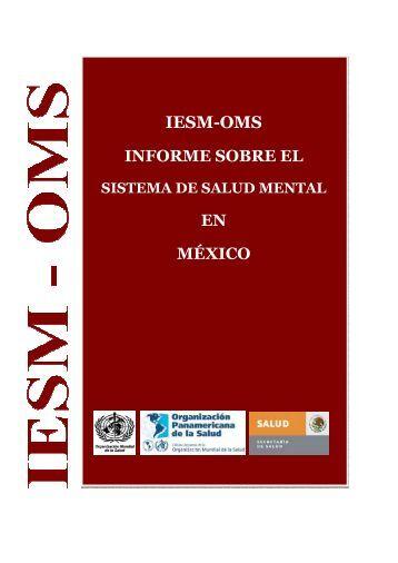 """IESM-OMS"" en México - World Health Organization"