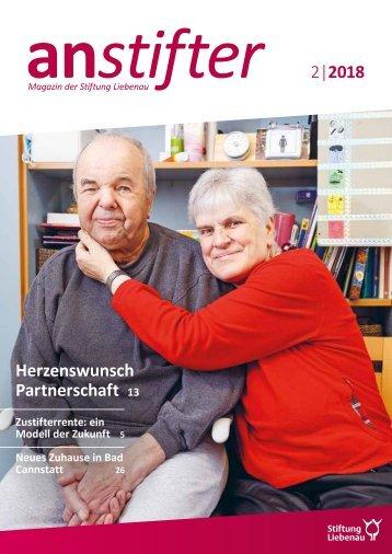 Anstifter 2, 2018 der Stiftung Liebenau