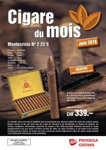 Cigare du mois Juin