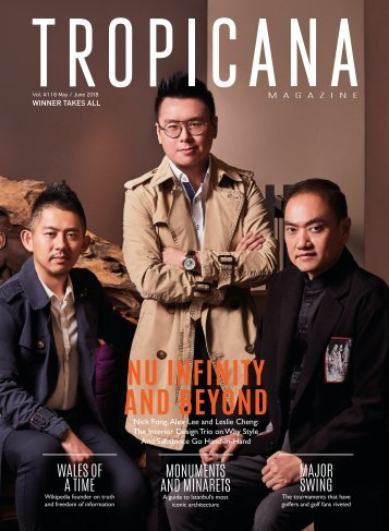 Tropicana Magazine MAY-JUNE 2018 #118 (Winner Takes All)