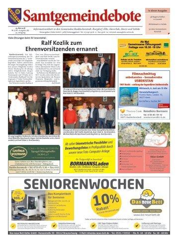 Samtgemeindebote 25.05.18