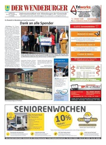 Der Wendeburger 25.05.18