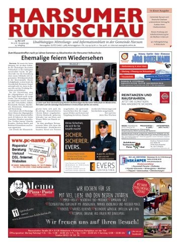 Harsumer Rundschau 24.05.18
