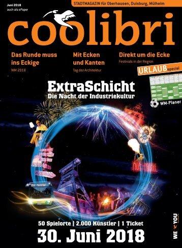 Juni 2018 - coolibri Oberhausen, Duisburg, Mülheim