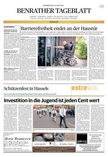 Schützenfest in Hassels  -24.05.2018-