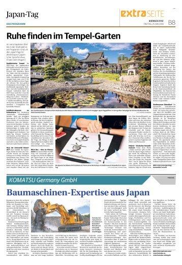 Komatsu Germany GmbH  -25.05.2018-