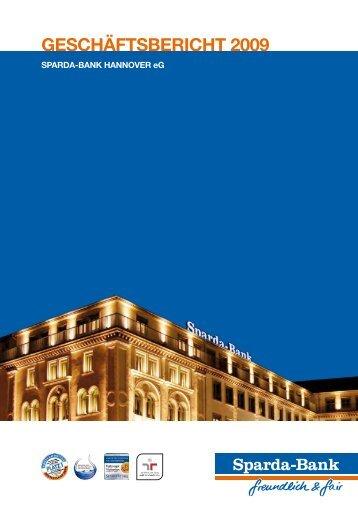 Geschäftsbericht 2009 der Sparda-Bank ... - Gewaltfrei Lernen