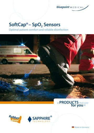 SoftCap® – SpO2 Sensors - bluepoint medical