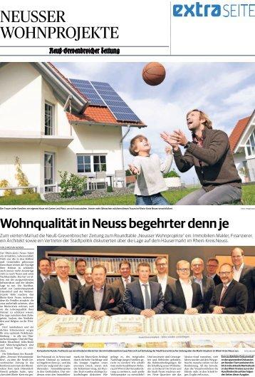 Neusser Wohnprojekte  -29.05.2018-
