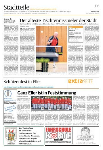 Schützenfest in Eller  -30.05.2018-