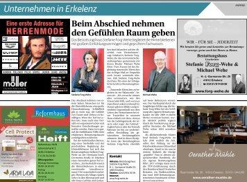 Unternehmen in Erkelenz  -31.05.2018-