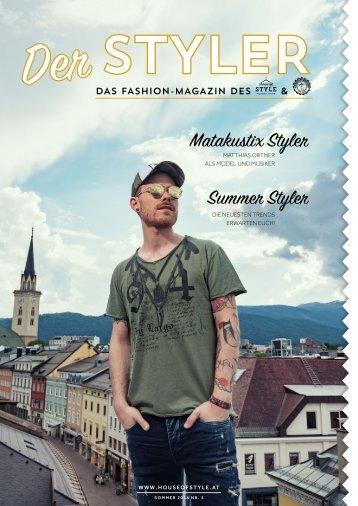 Der STYLER- Das Magazin des House of Style & Steel