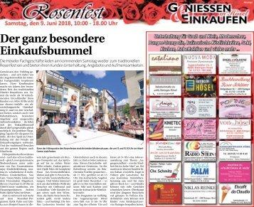 Rosenfest Hösel  -07.06.2018-