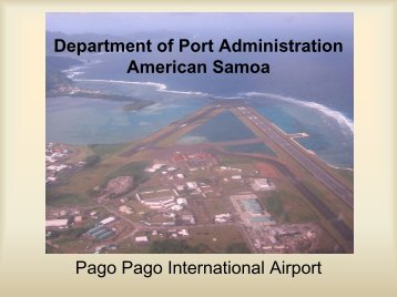Pago Pago International Airport - FAA