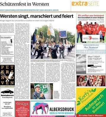 Schützenfest in Wersten  -07.06.2018-