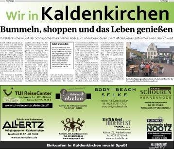 Wir in Kaldenkirchen  -07.06.2018-