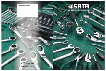 Page 1 Page 2 ABOUT US SATA hand tool program is developed by ...