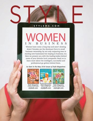 Style Magazine - 2018 - Women in Business {Special Promotional Section}