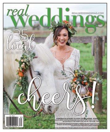 Real Weddings Magazine - Summer/Fall 2018