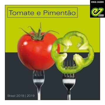 Tomate e Pimentão 2018 | 2019