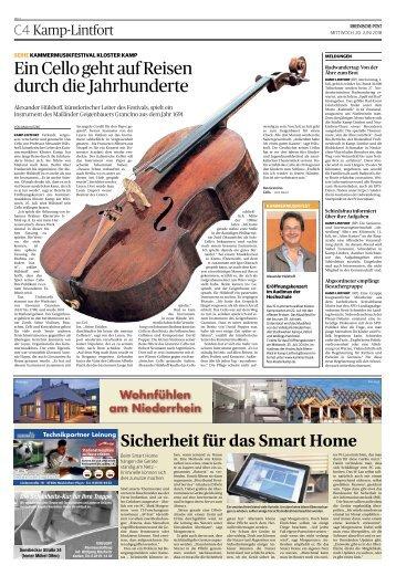 Wohnfühlen am Niederrhein  -20.06.2018-