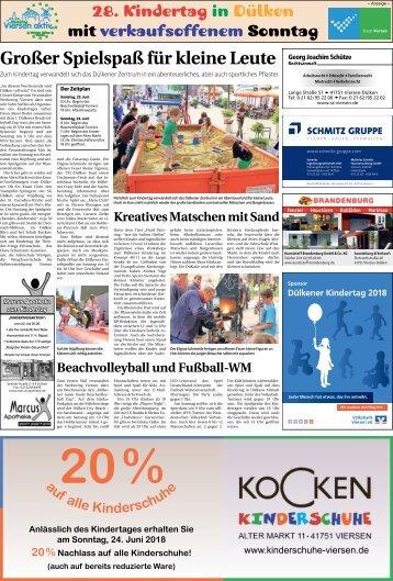 28. Kindertag in Dülken  -22.06.2018-