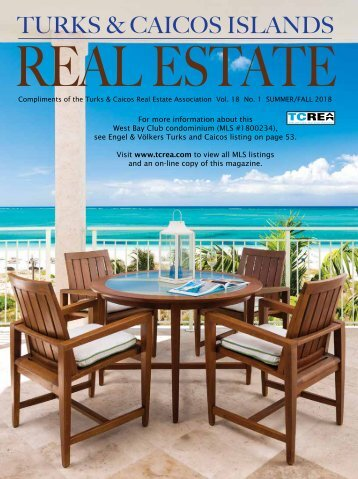 Turks & Caicos Islands Real Estate Summer/Fall 2018