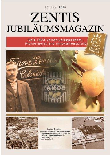 ZENTIS Jubiläumsmagazin  -23.06.2018-