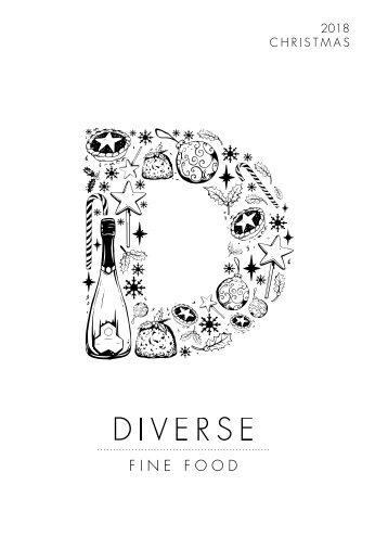 Diverse Fine Food 2018 Christmas Catalogue