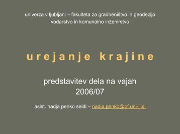 1 - Univerza v Ljubljani