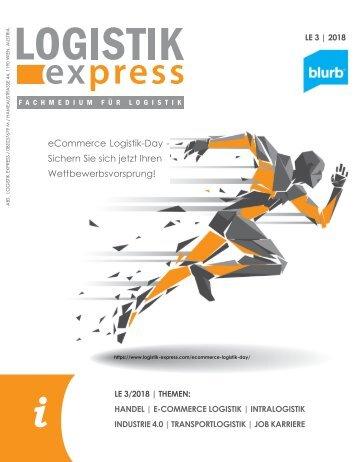 LOGISTIK express Fachzeitschrift | 2018 Journal 3