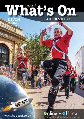 HUBCAST What's On Devon Summer 2018