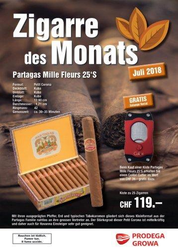 Zigarre des Monats Juli