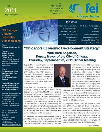FEI Newsletter August September 2011.indd - Financial Executives ...