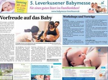 5. Leverkusener Babymesse  -27.06.2018-