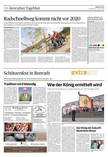 Schützenfest in Benrath  -28.06.2018-