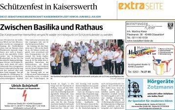 Schützenfest in Kaiserswerth  -28.06.2018-