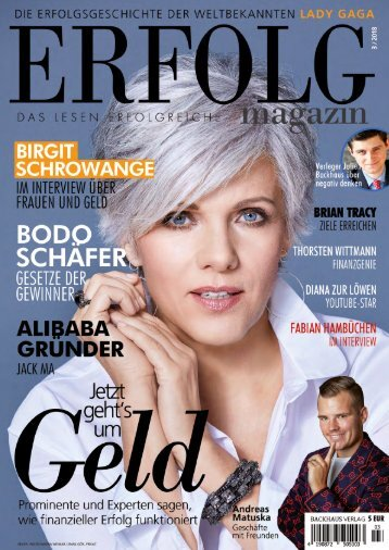 Erfolg Magazin, Ausgabe 3/2018