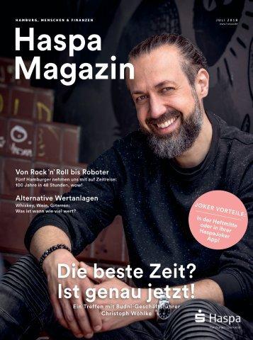 Haspa Magazin 02/2018