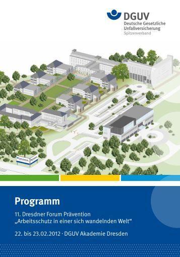 Programm - Deutsche Gesetzliche Unfallversicherung