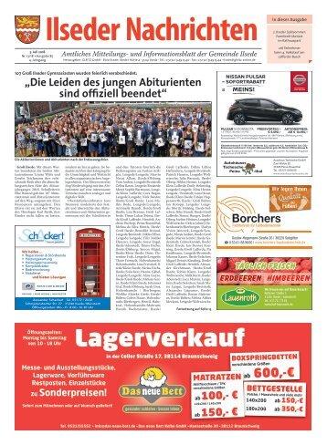 Ilseder Nachrichten 05.07.18