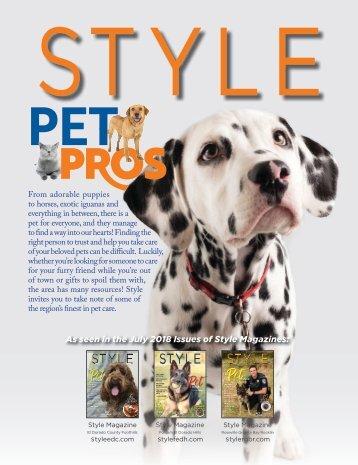 Style Magazine Pet Pros-Best-Veterinarians-Pet-Shops