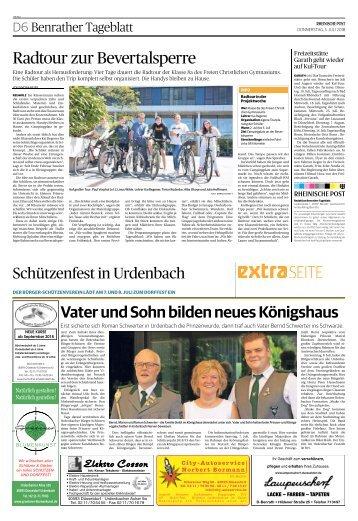 Schützenfest in Urdenbach  -05.07.2018-