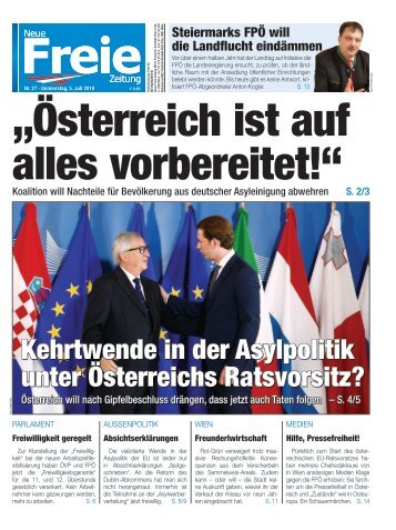 """""""Österreich ist auf alles vorbereitet!"""""""