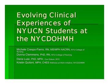 open mind - New York New Jersey Public Health Training Center