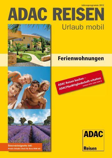 ADAC Ferienwohnungen 2012