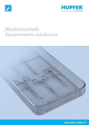 Hupfer Medizintechnik - Equipements médicaux