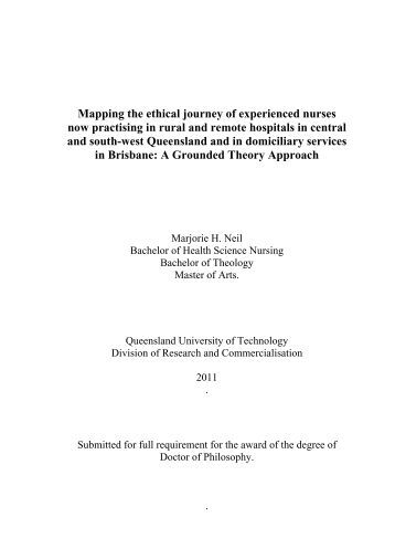 queensland thesis